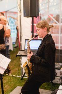 Eventfeier-Saxophon